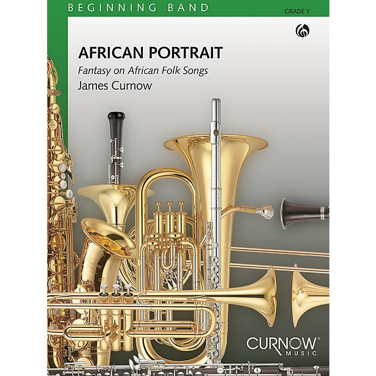 Curnow MusicAfrican Portrait (Grade 1 - Score Only) Concert Band Level 1 Composed by James Curnow