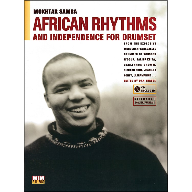 Alfred African Rhythms and Independence for Drumset - Mokhtar Samba (Book/CD)