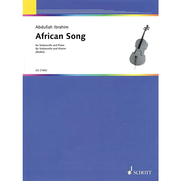 SchottAfrican Song (for Cello and Piano) String Series Softcover