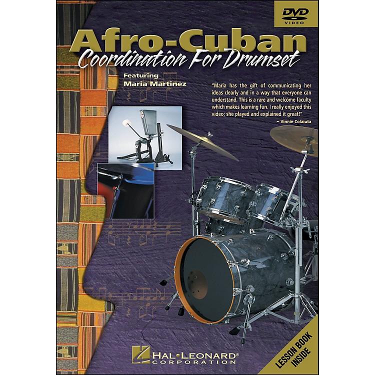 Hal LeonardAfro-Cuban Coordination for Drumset - DVD