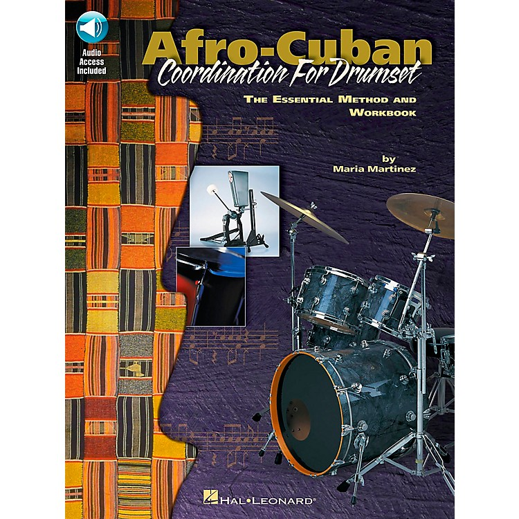 Hal LeonardAfro-Cuban Coordination for Drumset Book with CD