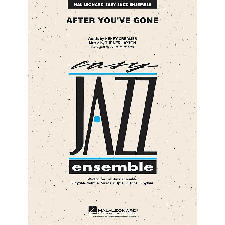 Hal LeonardAfter You've Gone Jazz Band Level 2 Arranged by Paul Murtha