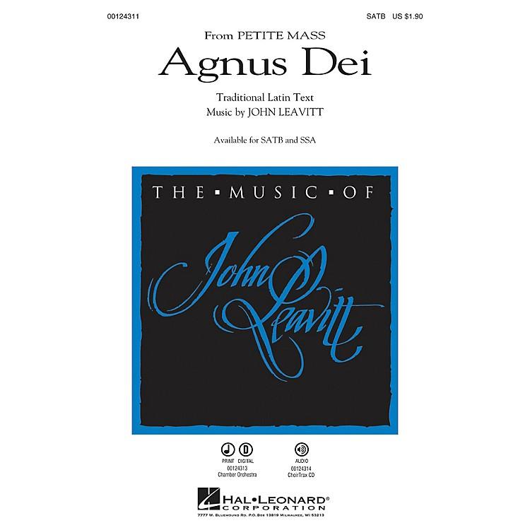 Hal LeonardAgnus Dei (from Petite Mass) SSA Composed by John Leavitt
