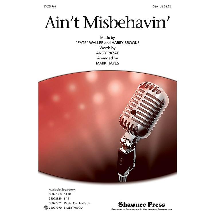 Shawnee PressAin't Misbehavin' SSA by Thomas