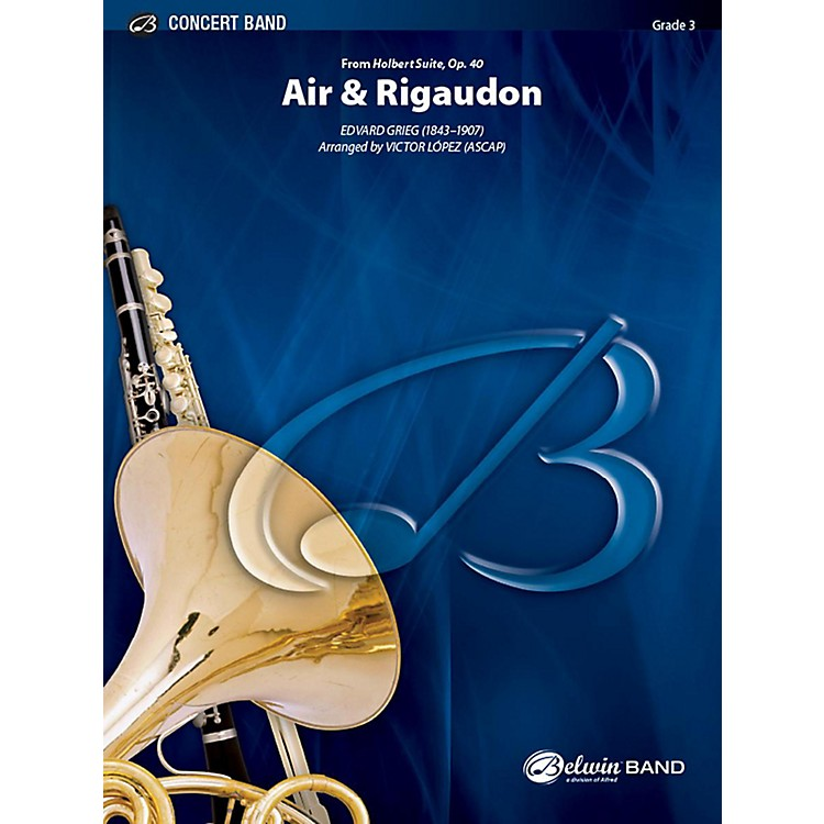 Alfred Air & Rigaudon Concert Band Grade 3 Set