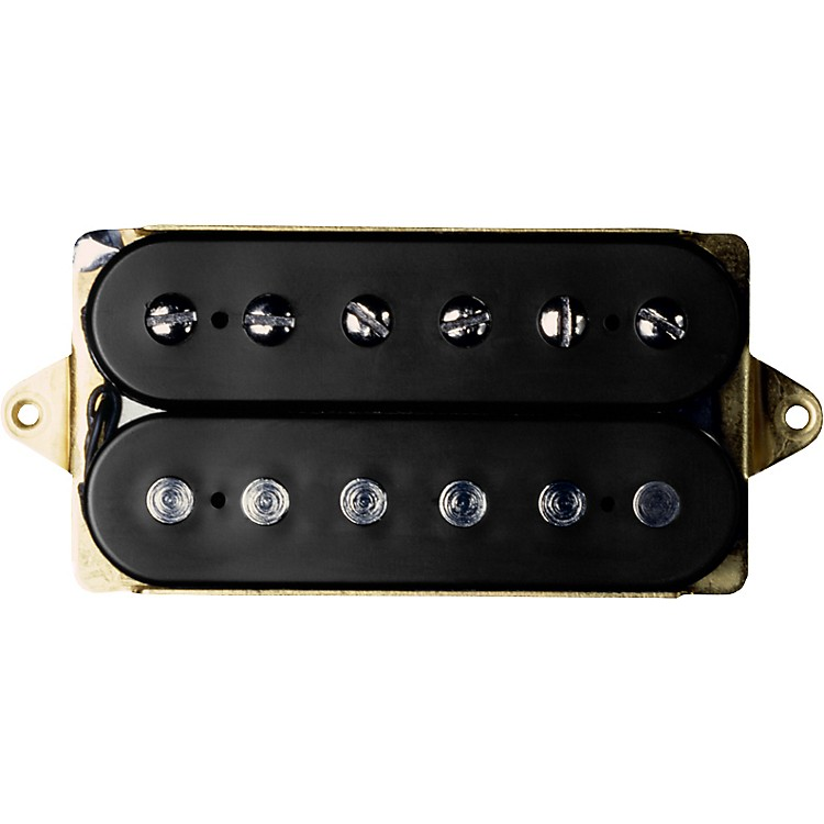 DiMarzio Air Zone DP192 Humbucker Electric Guitar Pickup Black/Cream F-Spaced