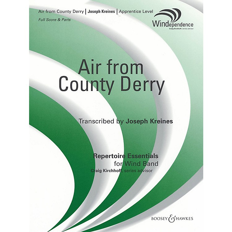 Boosey and Hawkes Air from County Derry Concert Band Composed by Joseph Kreines
