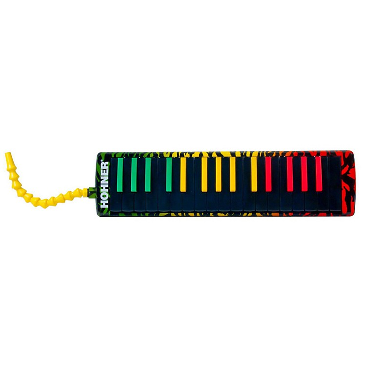 Hohner Airboard Rasta Print With Bag And Blowflow Mouthpeice 32-Key