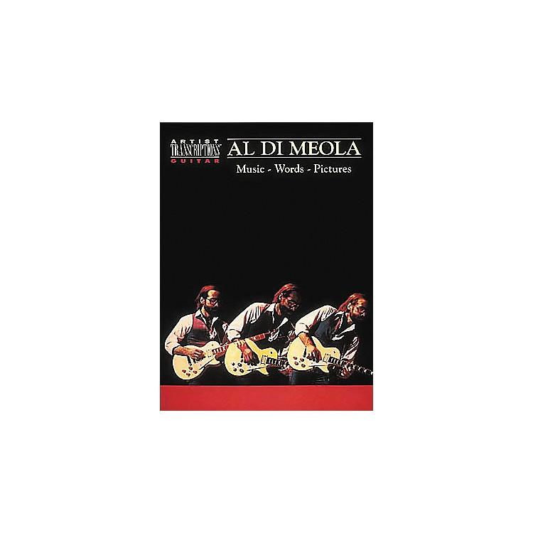 Hal LeonardAl Di Meola - Music, Words, Pictures Guitar Tab Book