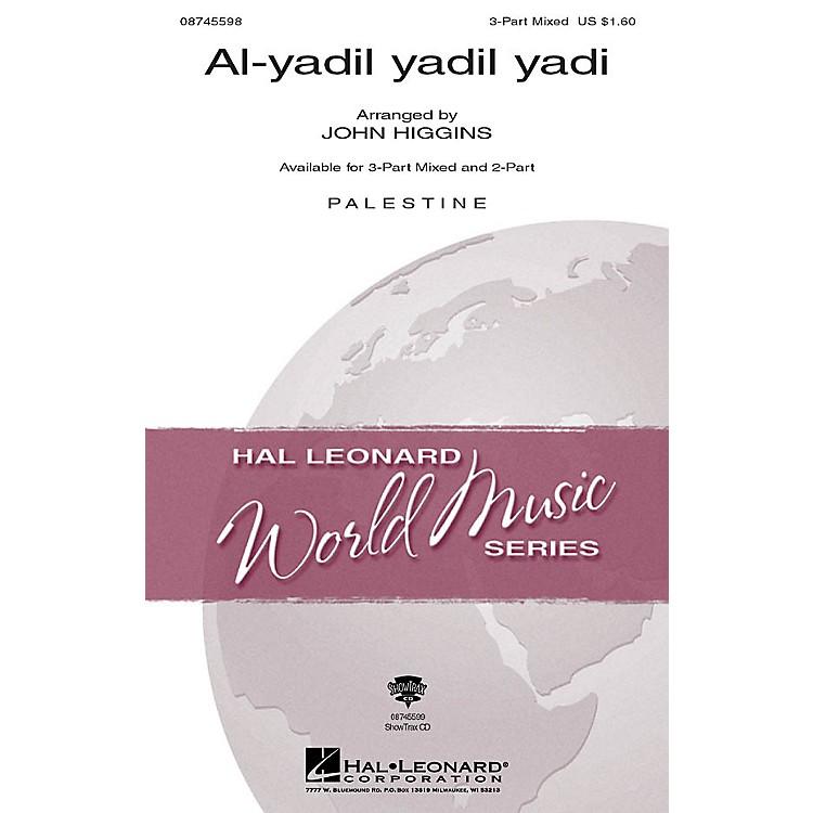 Hal LeonardAl-yadil yadil yadi 3-Part Mixed arranged by John Higgins