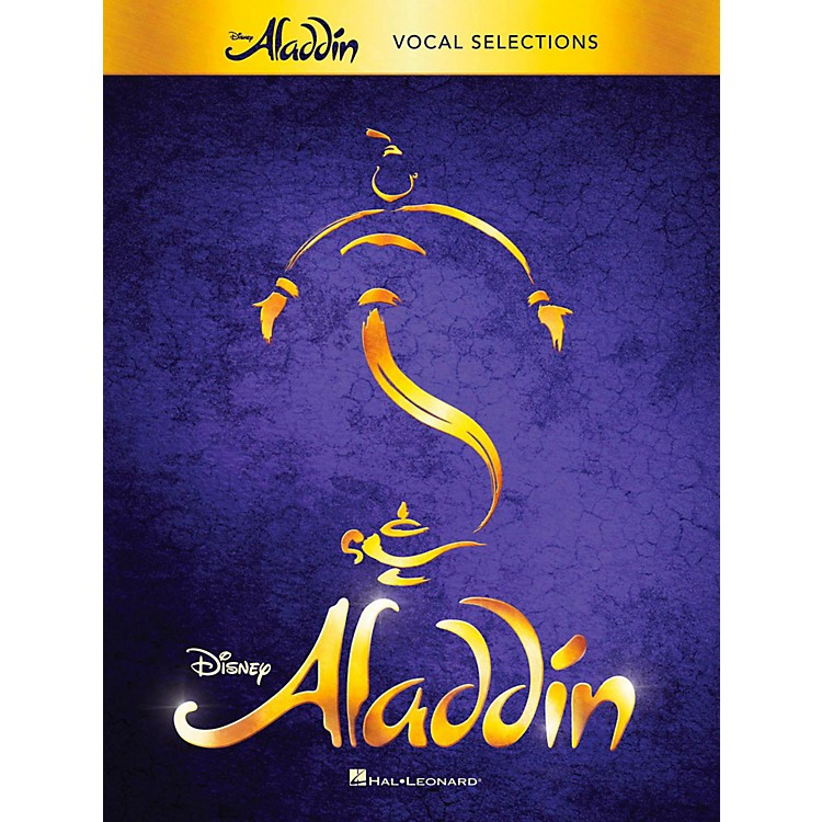 Hal LeonardAladdin - Broadway Musical Vocal Selections w/ Piano Accompaniment