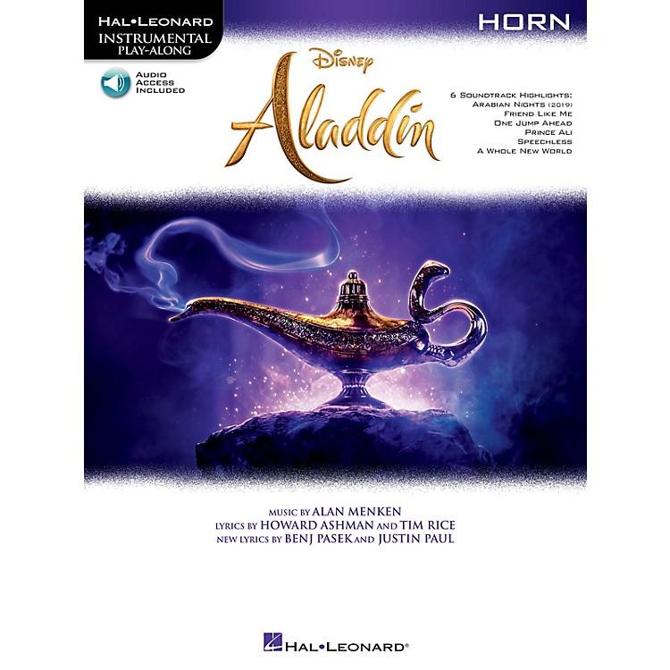 Hal LeonardAladdin Instrumental Play-Along for Horn Book/Audio Online