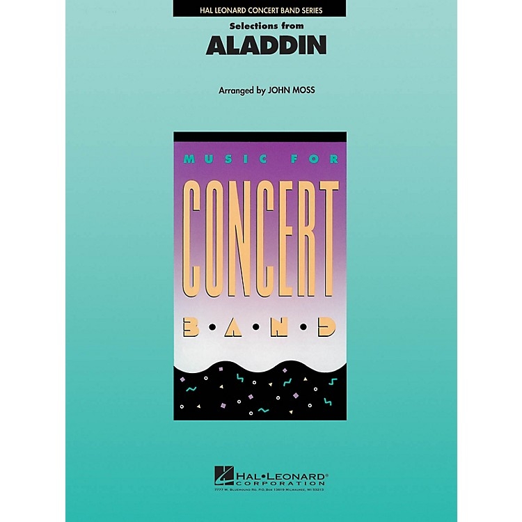 Hal Leonard Aladdin, Selections from Concert Band Level 4 Arranged by John Moss