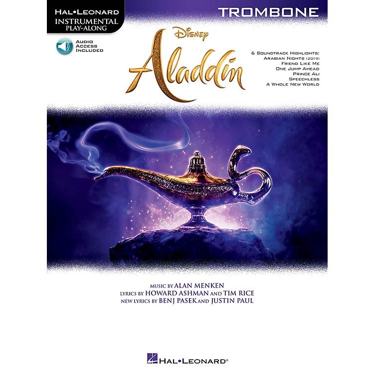 Hal LeonardAladdin for Trombone Instrumental Play-Along Book/Audio Online