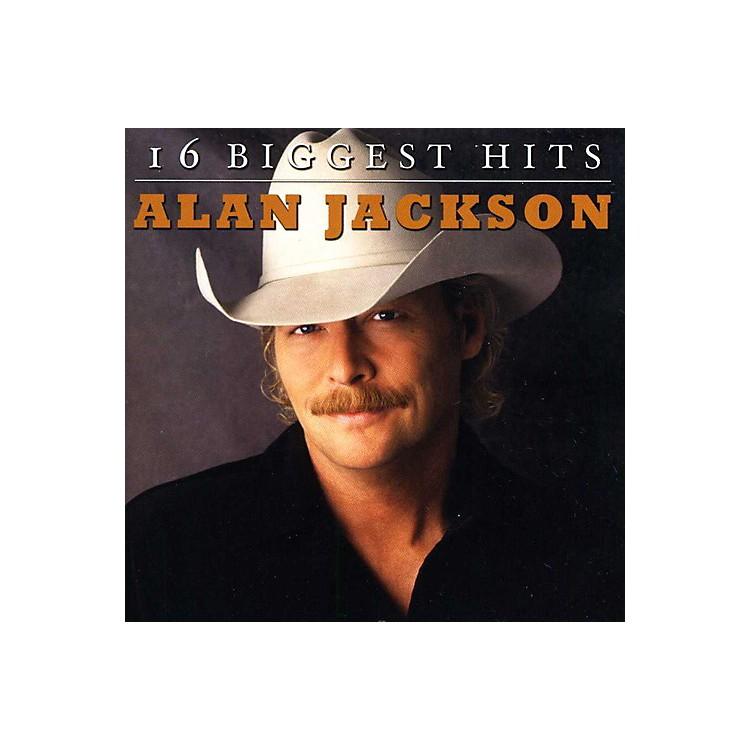 AllianceAlan Jackson - 16 Biggest Hits (CD)