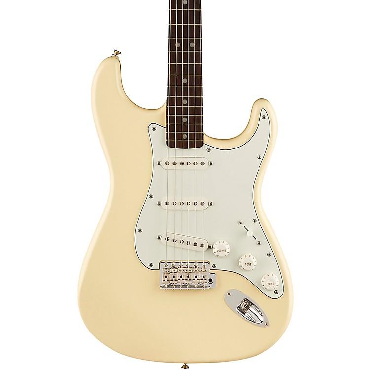 FenderAlbert Hammond Jr. Stratocaster Electric GuitarOlympic White