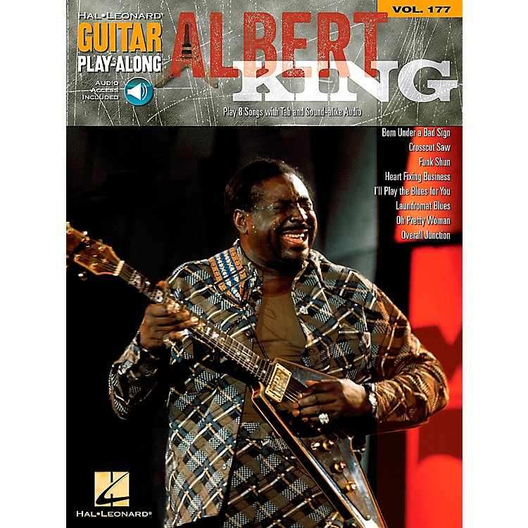 Hal Leonard Albert King - Guitar Play-Along Volume 177 Book/CD