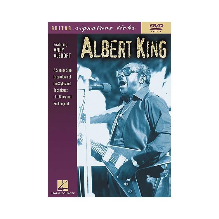 Hal LeonardAlbert King Guitar Signature Licks (DVD)