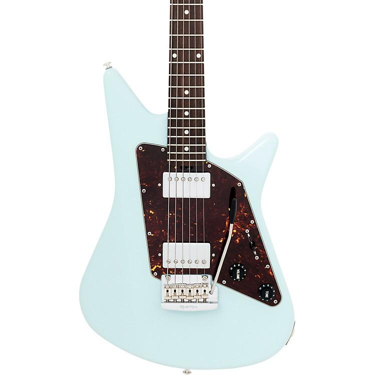 Ernie Ball Music ManAlbert Lee HH Rosewood Neck Electric GuitarPowder Blue