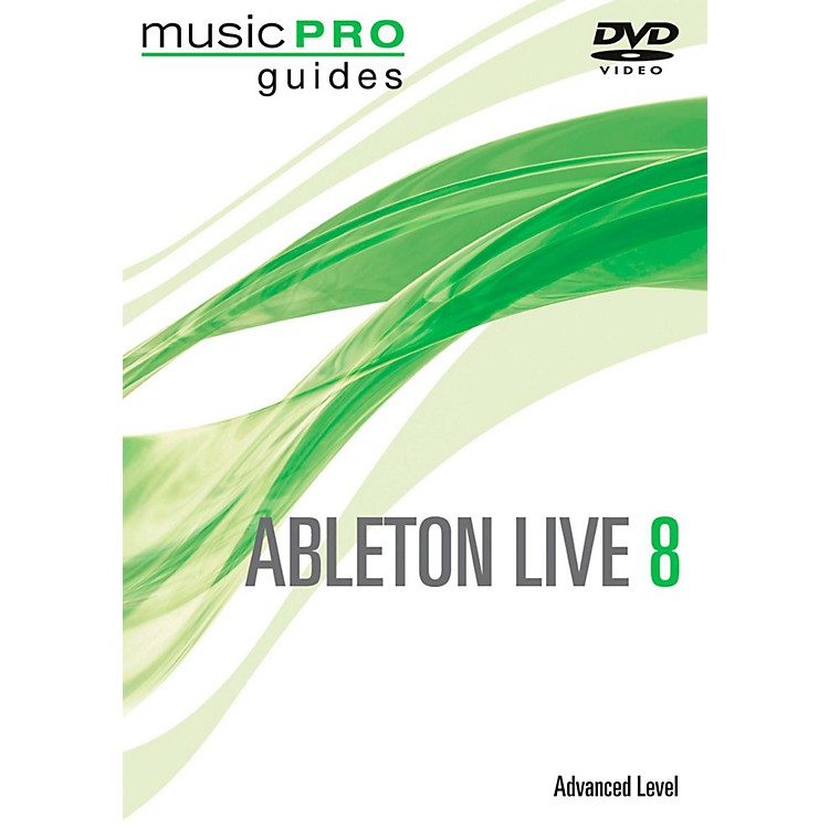 Hal Leonard Albeton Live 8 Advanced DVD music Pro Series