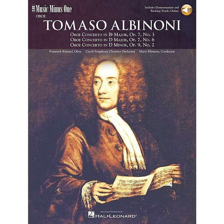 Music Minus OneAlbinoni - Oboe Concerti B-flat Op 7 No 3 D Maj Op 7 No 6 D Min Op 9 No 2 Music Minus One BK/CD by Kimmel