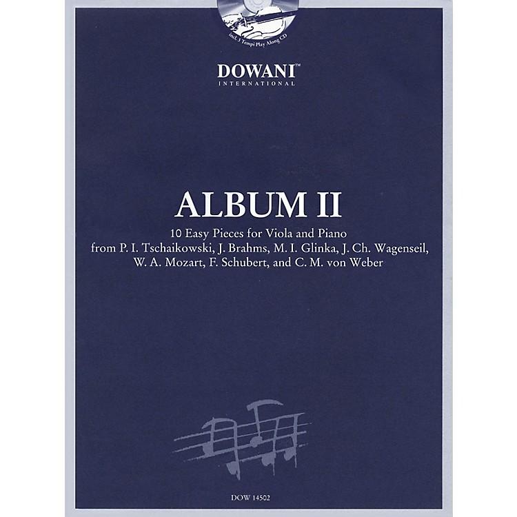 Dowani EditionsAlbum Vol. II (Easy) Viola and Piano (10 Easy Pieces for Viola and Piano) Dowani Book/CD Series