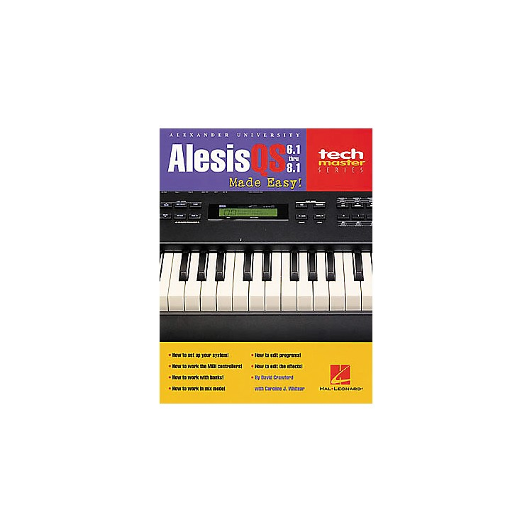 Hal Leonard Alesis QS Made Easy! Book