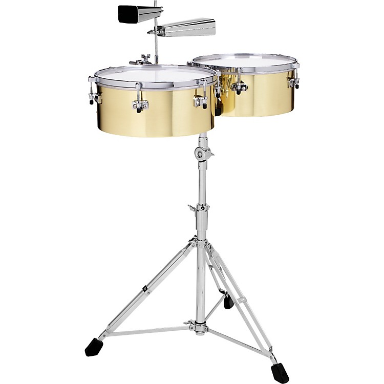 Gon BopsAlex Acuna Signature Brass Timbaleswith 9600 Stand