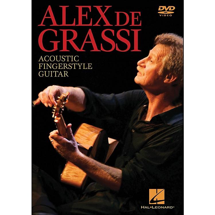 Hal LeonardAlex De Grassi - Acoustic Fingerstyle Guitar Instructional (DVD)