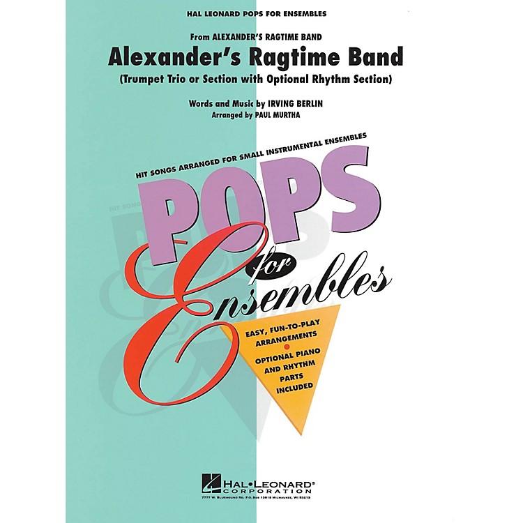 Hal LeonardAlexander's Ragtime Band Concert Band Level 2.5 Arranged by Paul Murtha