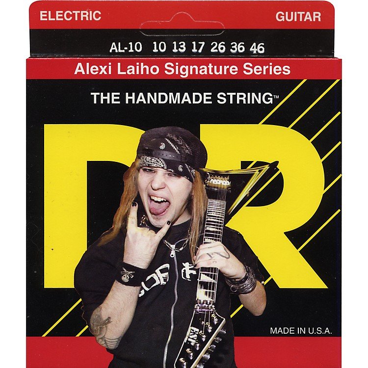 DR Strings Alexi Laiho Signature Electric Guitar Strings - Medium