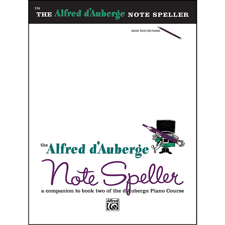 AlfredAlfred d'Auberge Piano Course Note Speller Book 2