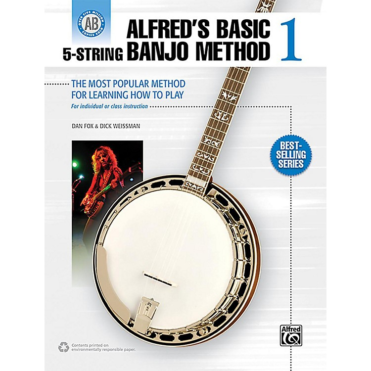 Alfred Alfred's Basic 5-String Banjo Method 1 Book