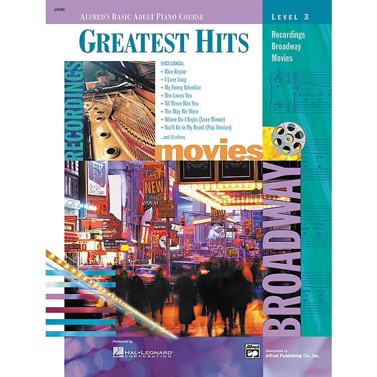 AlfredAlfred's Basic Adult Piano Course Greatest Hits Book 3