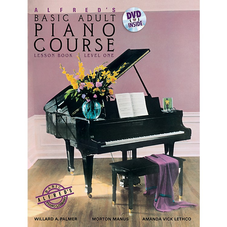 AlfredAlfred's Basic Adult Piano Course Lesson Book 1 & DVD