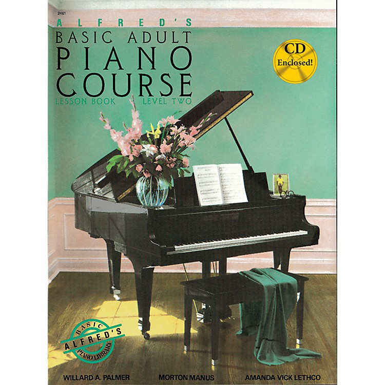 AlfredAlfred's Basic Adult Piano Course Lesson Book 2 Book 2 & CD