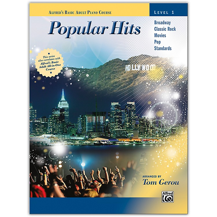AlfredAlfred's Basic Adult Piano Course: Popular Hits, Level 1