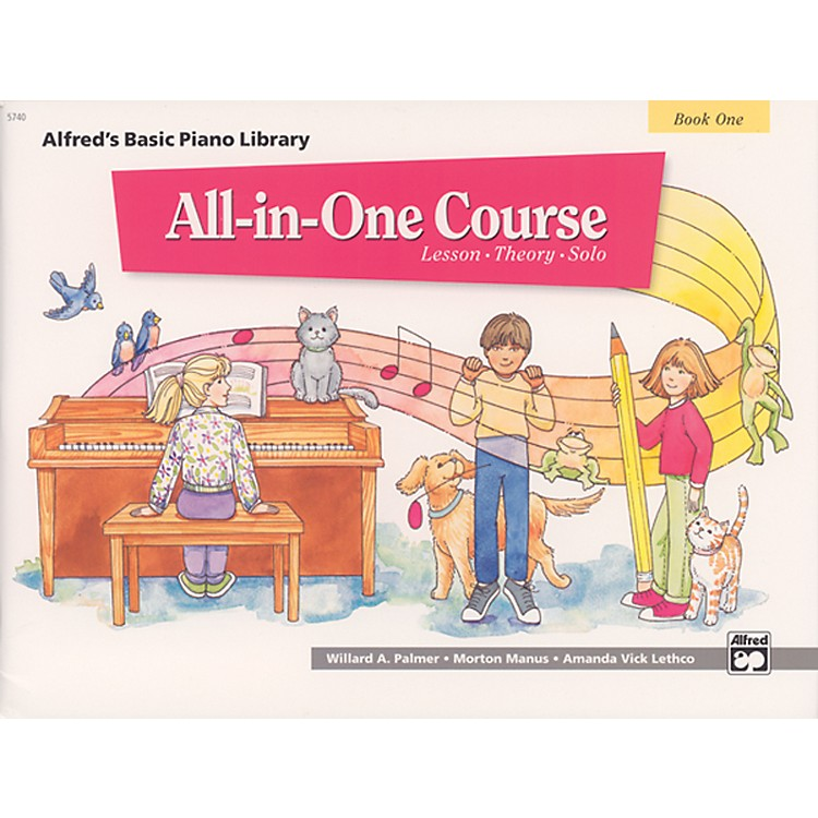 AlfredAlfred's Basic All-in-One Course Book 1