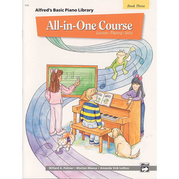 Alfred Alfred's Basic All-in-One Course Book 3