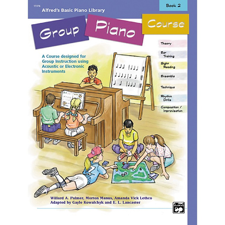 AlfredAlfred's Basic Group Piano Course Book 2