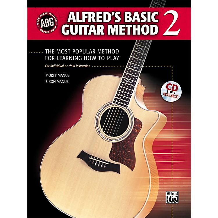 AlfredAlfred's Basic Guitar Method Level 2 Book
