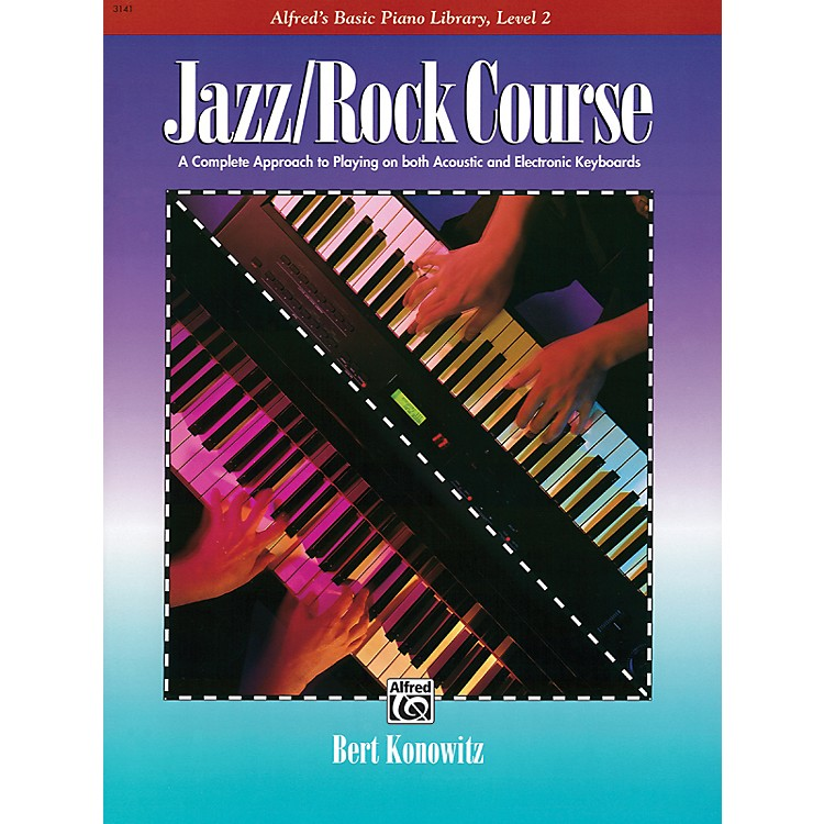 AlfredAlfred's Basic Jazz/Rock Course Lesson Book Level 2