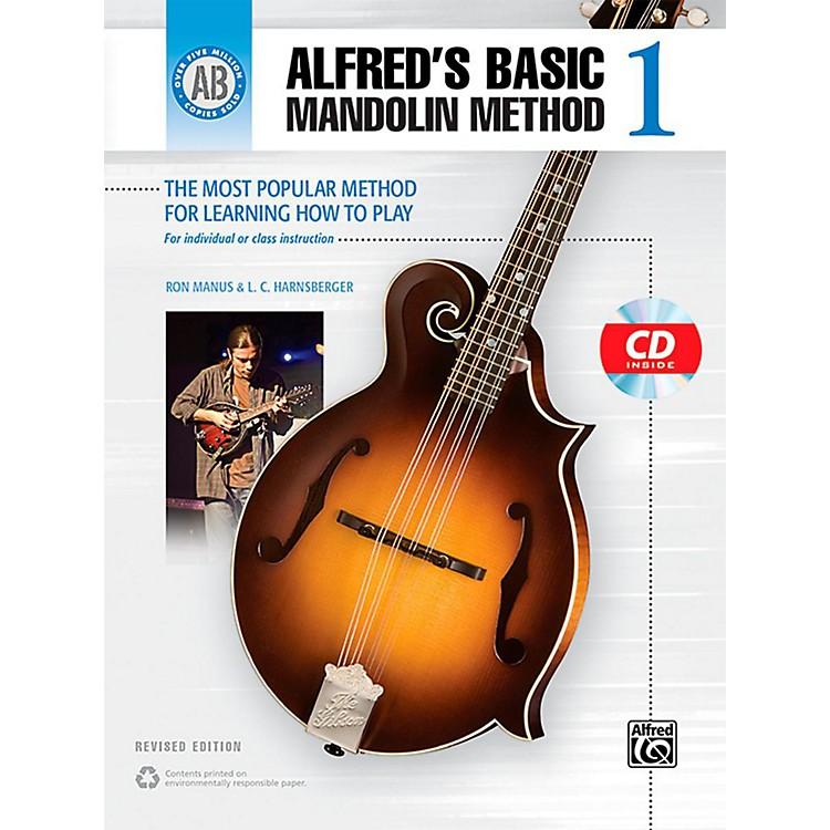 AlfredAlfred's Basic Mandolin Method 1 (Revised) Book & CD