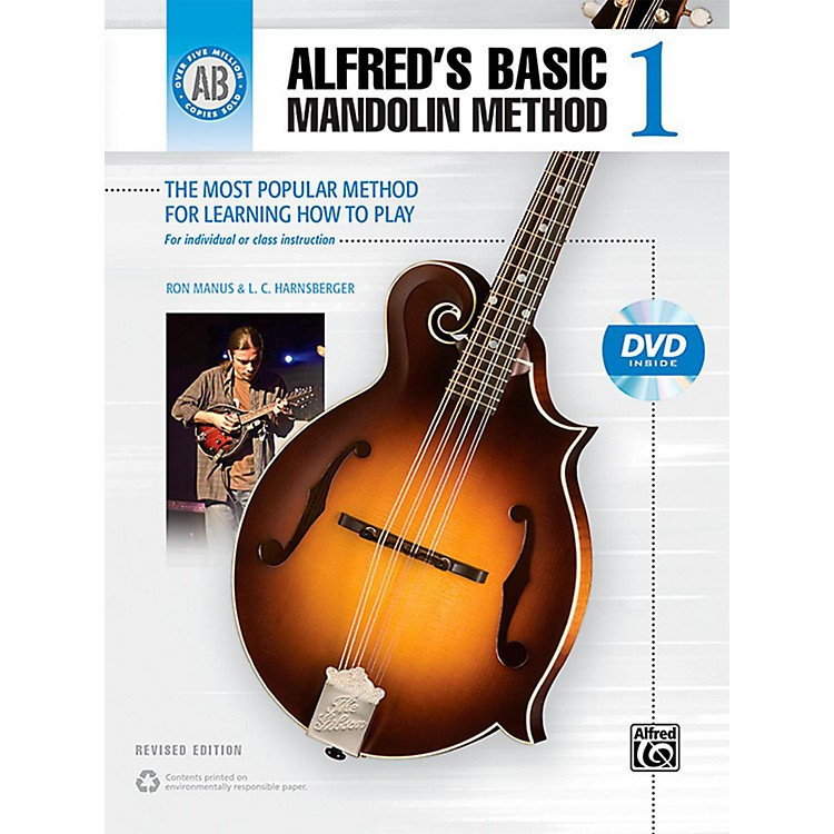 Alfred Alfred's Basic Mandolin Method 1 (Revised) Book & DVD