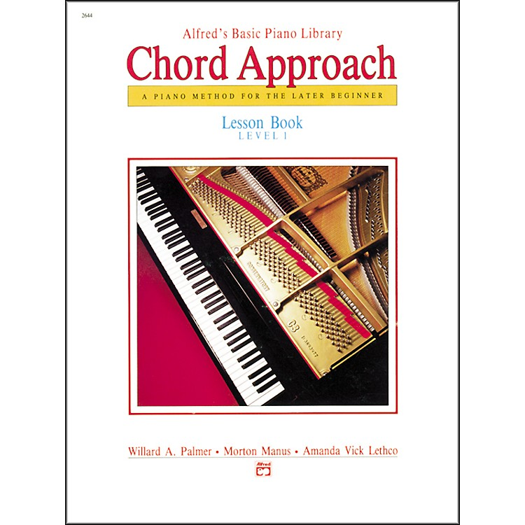 AlfredAlfred's Basic Piano Chord Approach Lesson Book 1
