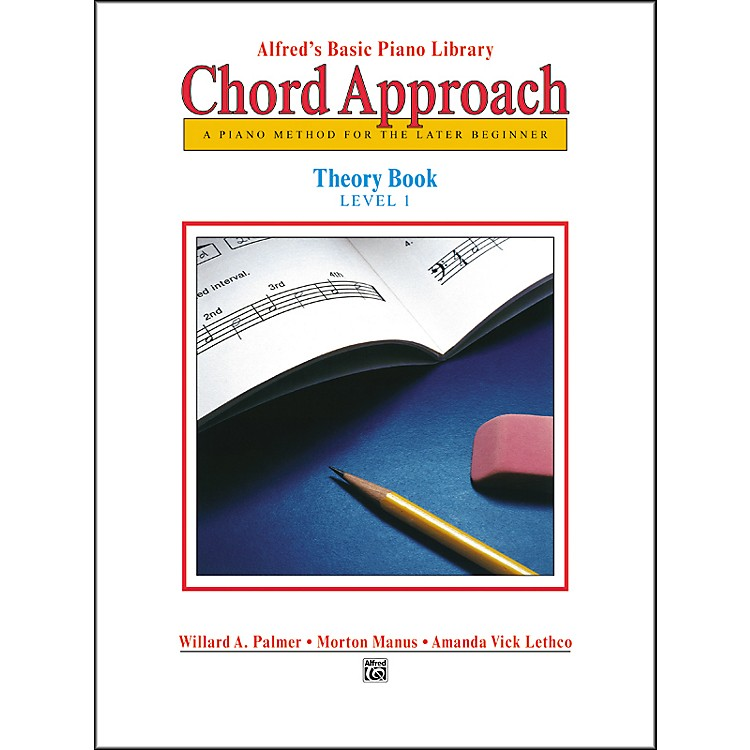 AlfredAlfred's Basic Piano Chord Approach Theory Book 1