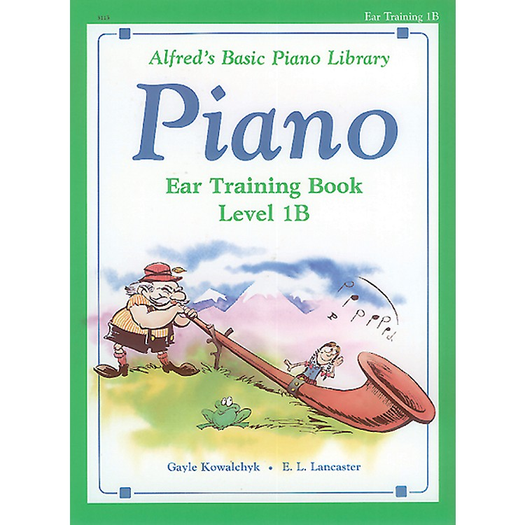 AlfredAlfred's Basic Piano Course Ear Training Book 1B