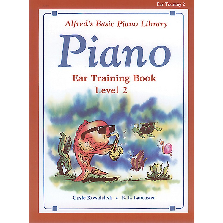AlfredAlfred's Basic Piano Course Ear Training Book 2