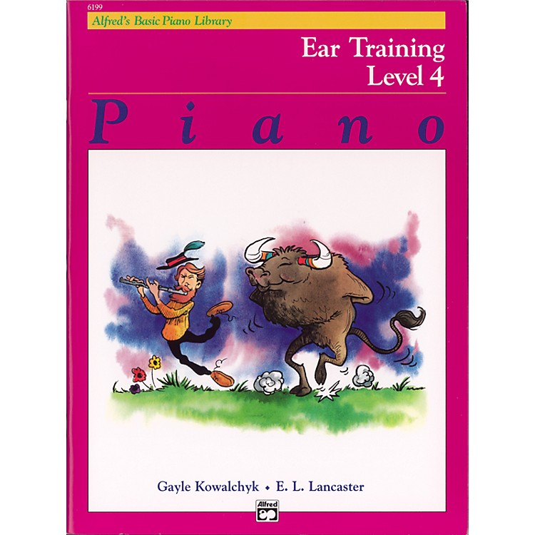 AlfredAlfred's Basic Piano Course Ear Training Book 4