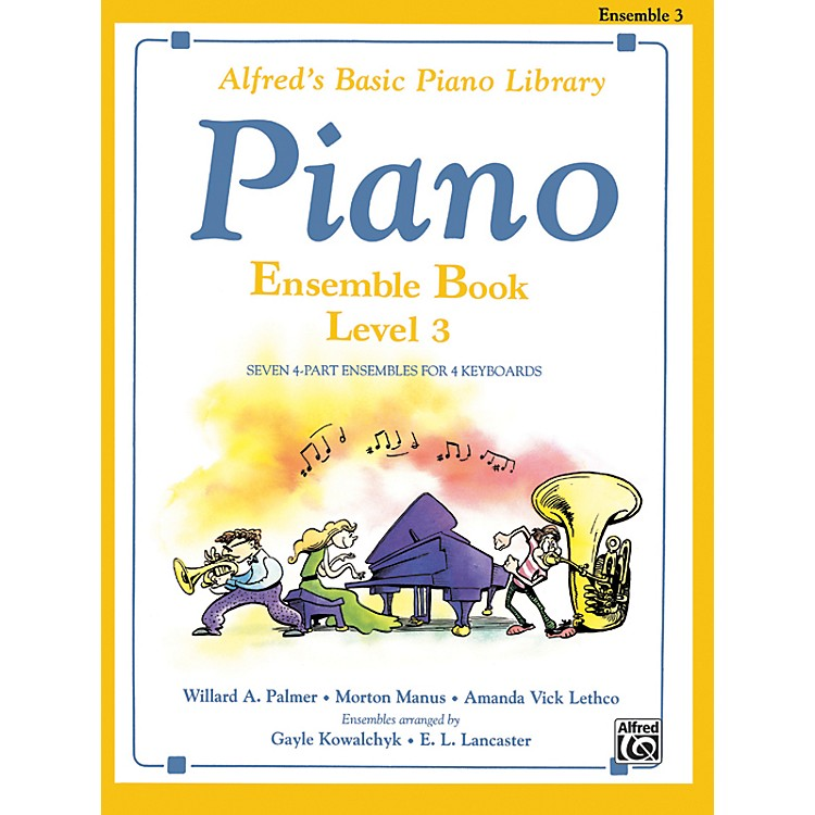 AlfredAlfred's Basic Piano Course Ensemble Book 3